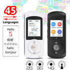 Portable Smart Translator Professional Multi-Languages Translation Device Travel