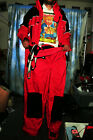 HMK Rock Water Designs Snow Mobile Suit (Jacket & pants) never worn Red XXL