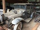 1931 Ford Model A Deluxe Touring Sedan Barn Find Model A 4 Door Deluxe Touring Sedan Complete Rat Rod candidate,