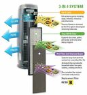 GermGuardian 3 in 1 Air Cleaning System True HEPA Filter Uv Sanitizer