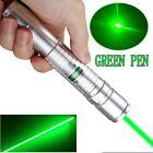 50Miles Range 532nm Green Laser Pointer Pen Visible Beam Light 18650 Lazer US