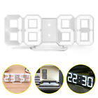 LED Display Digital Alarm Clock Wall Clock Smart night mode with USB Charge
