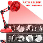 100W Floor Stand TDP Infrared Therapy Heat Lamp Health Pain Relief Physiotherapy