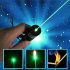 50Miles Green Laser Pointer Pen 532nm Rechargeable Visible Beam Light Lazer Pen