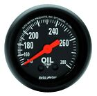 AutoMeter 2609 Z-Series Mechanical Oil Temperature Gauge