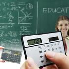 Office School Portable Solar Powered 8-Digit Count Calculator 85 x 55 x 2 mm