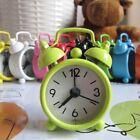 Mini Alarm Clock Quartz Snooze Desk Night Office Auto Classic Bell Retro Style