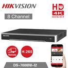 HIKVISION FULL 4K ULTRA HD 8ch NVR DS-7608NI-I2  3yr warranty