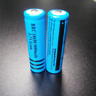 2x Rechargeable 18650 Battery 3000mAH 3.7V Li-ion Batteries for Flashlight Torch