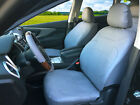 Two Front Car Seat Cover PU Leather Protector Cushion Universal Fit 15902- Gray