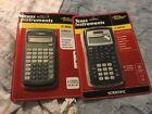 Texas Instruments Ti-30x IIS Scientific Solar Calculator Black Two Lines Lot 2
