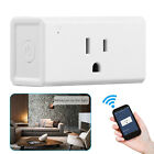 Wifi Smart Plug Works With Alexa, Mini Time Switch Wifi Socket Outlet Remote