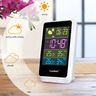 Wireless Weather Station In/Outdoor Forecaster Temperature Humidity Alarm Snooze