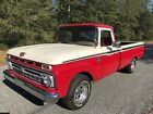 1966 Ford F-100 Investment Grade 1966 FORD F-100 PICKUP TRUCK FULL RESTORATION DAILY DRIVER FOUR SPD FLOOR SHIFT