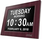 [Newest Version] Day Clock - Extra Large Impaired Vision Digital Clock with & 5