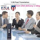 US  Speech interpret Translator Two-Way Real Time BT4.0 33 Language Translation