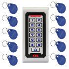 IP68 125KHZ Keypad Single Door Access Control+Wiegand 26 bit+10XRFID Cards HOT