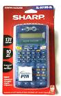 New Sharp EL-501WBBL Scientific Calculator 131 functions 10 Digit Display