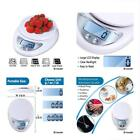 Digital Scales Kitchen Food Scale, LCD Large Display Accurate Measuring Cooking