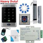 Waterproof RFID Card + Password Door Access Control System+Magnetic Lock USA TOP