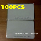 100PCS 125KHz RFID Cards EM4100 Proximity ID Cards for Door Access Control USA