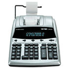 1240-3A Antimicrobial Printing Calculator, Black/Red Print, 4.5 Lines/Sec
