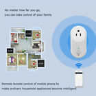 Wifi Smart Plug Outlet Remote Control US Socket Work with Alexa&Google Home