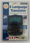Seiko 6 Six-Language Pocket Translator NEW Model DF4033 Travel Organizer Alarm