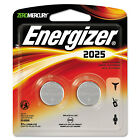 Energizer Watch/Electronic/Specialty Battery 2025 3V 2/Pack 2025BP2