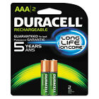 Duracell Rechargeable NiMH Batteries with Duralock Power Preserve Technology AAA