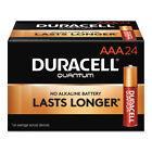 Duracell Quantum Alkaline Batteries with Duralock Power Preserve Technology AAA