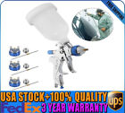 Air Paint Spray Gun Kit HVLP Gravity Feed Car Primer Nozzle 600CC PVC HOT