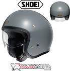 New Shoei JO Rat Grey Multiple Sizes Open Face Vintage Motorcycle Helmet