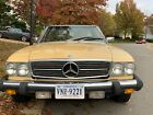 1980 Mercedes-Benz SL-Class  1980 Mercedes Benz 450 SL Roadster Leather Automatic Soft & Hard Top Convertible