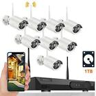 2MP 8CH IP Bullet Camera H265 WiFi IP Security Camera System NO HDD Kit Outdoor