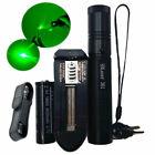 50Miles Professional Green 532NM Laser Pointer Lazer Pen Beam Burn+18650 Battery