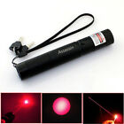 Rechargeable Red Single Beam Laser Pointer Pen 30Miles 650nm Range Bright Laser