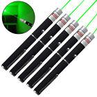 5PCS 532nm 50Miles Green Laser Pointer Pen Portable Camping Laser US Pet Toy