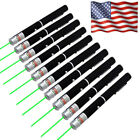 10 Sets 532nm Green Laser Pointer Pen Mini AAA Lazer Pet Toy Funny US Stock