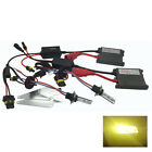 DIPPED HEADLIGHT HB3 9005 PRO HID KIT 3000K YELLOW 35W FOR CADILLAC PVHK107