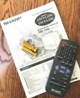 Sharp 13VT-L100 / 150 Remote Control w New Batteries and Manual - Mint Condition