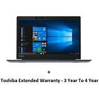 New  Toshiba PORTEGEX30 I7 8GB 256SSD 13.3T W10P 4Y BPT282A-04U00L+SSWA-06034R