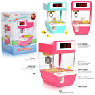 Funny Creative Candy Grabber Alarm Clock,Electronic Crane Claw Game with Music