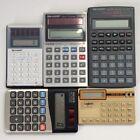Lot of 15 DEFECTIVE Calculators [B]