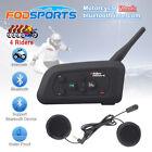 4 Riders Motorcycle Helmet Intercom Wireless Bluetooth Interphone Headset 1200m