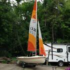 14 foot C&L sailboat