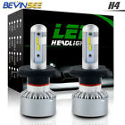 9003 LED Headlight For Yamaha VMX540 1985 1986 1987 Hi/Low Beam H4 6000K Bulbs