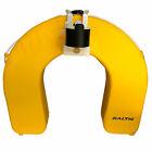 Baltic Horseshoe Lifebuoy with Safety Light and Rail Mount - Yellow
