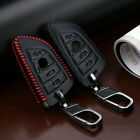 Premium Leather 2 3 Buttons Car Remote Key Fob Case Cover For BMW X1/X3/X6/X5/6