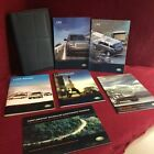 2007 Land Rover LR2 Owners Manual book set with navigation book and case